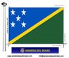 Bandera País d'Illes Salomó.