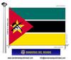 Bandera País de Mozambic.