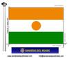 Bandera País d'Níger.