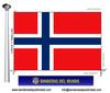 Bandera País de Noruega.