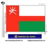 Bandera País d'Oman.
