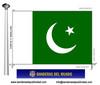Bandera País del Pakistan.