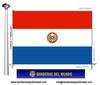 Bandera País d'Paraguai.