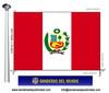 Bandera País del Perú.