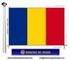 Bandera País de Romania.