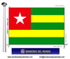 Bandera País del Togo.