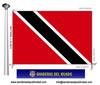 Bandera País d'Trinitat Tobago.