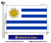 Bandera País d'Uruguai.