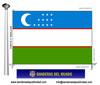 Bandera País d'Uzbekistan
