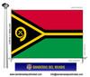 Bandera País de Vanuatu.
