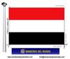 Bandera País del Iemen.