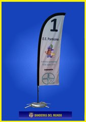 FLY BANNER PLUMA ECO ESTANDAR