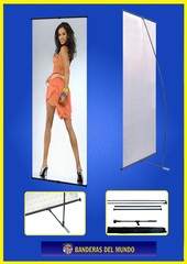 STANDS L BANNER 60x160