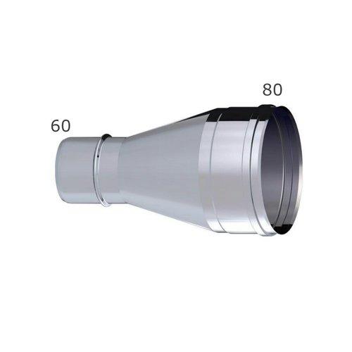 Ampliación 60 a 80 HH tomas aire estufas.