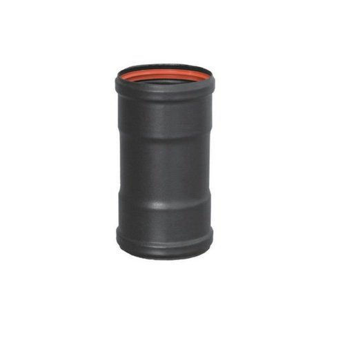 Manguito HH para union de tubos de pellet de 80 mm