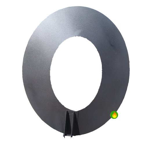 Plafon ovalado para tubo estufa