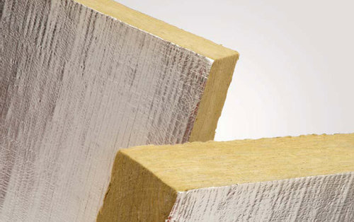 Plancha de lana de roca