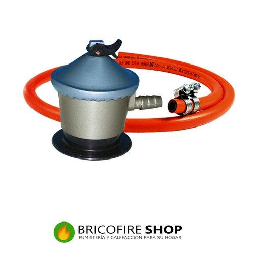Regulador de gas 30 gr + manguera butano