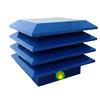 Sombrero chimenea azul RAL 5010