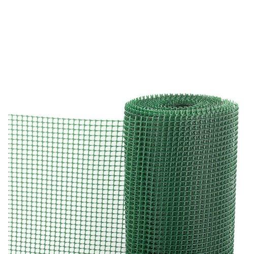 Malla plástica Verde 100 cm Rollo de 25 m