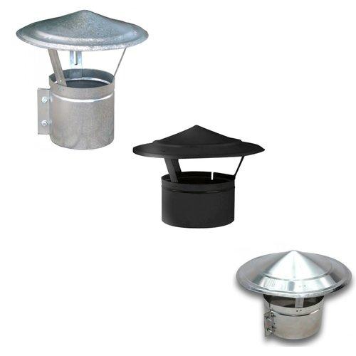 Sombrerete Chino galvanizado, negro o inox