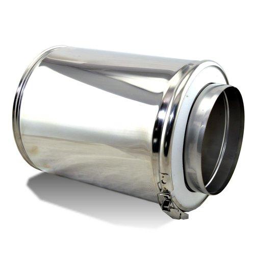 Tubo doble pared inox de 25 cm