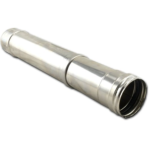 Tubo extensible de pellet inox 316
