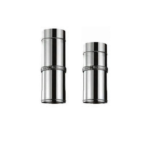 Tubo extensible pared simple inox Bofill. 150 mm