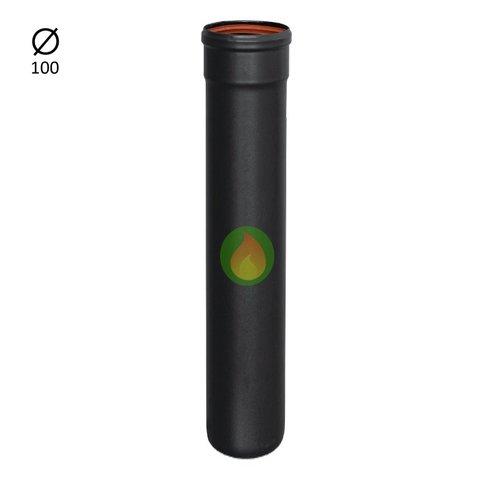 Tubo Negro 100 Pellet 100 cm