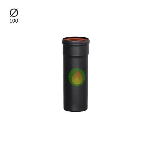 Tubo pellet 100 mm 25 cm