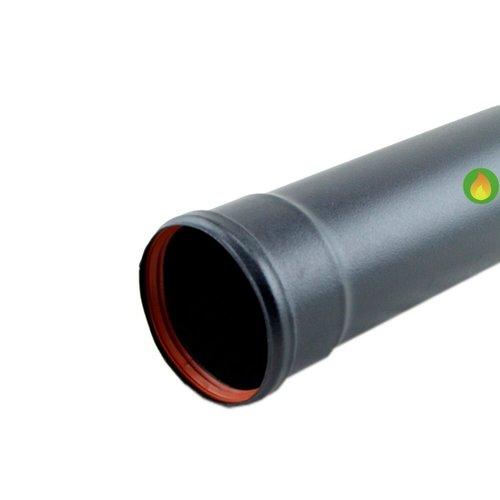 Tubo de pellet 80 mm de 25 cm