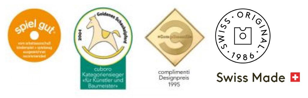 Premios y certificados