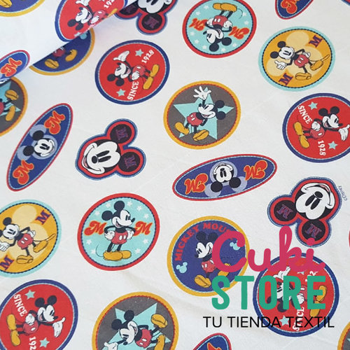 ALGODON 100% DISNEY MICKEY MOUSE 1928