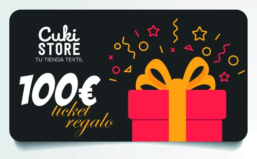 TICKET REGALO 100 €