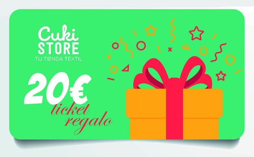TICKET REGALO 20 €