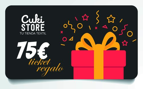 TICKET REGALO 75 €