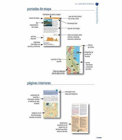 Explicación del diseño de las páginas.