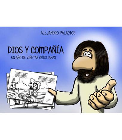 Portada del libro Dios y Compañía. Un año de viñetas cristianas.