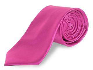Corbata lisa fucsia