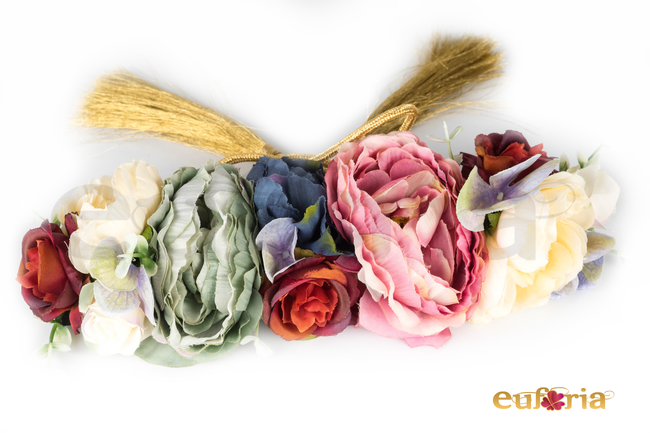 Cinturon de fiesta y flores Ref. 880