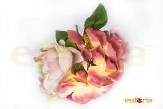 Ramillete en tonos rosas
