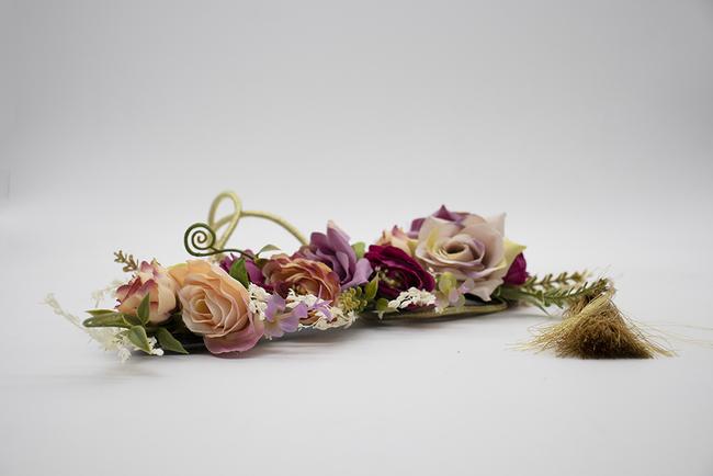 Cinturón de fiesta y flores Ref. 048