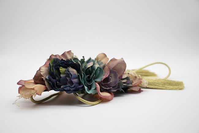 Cinturón de fiesta y flores Ref. 041