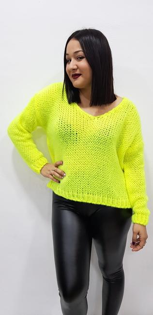 Jersey amarillo fluor