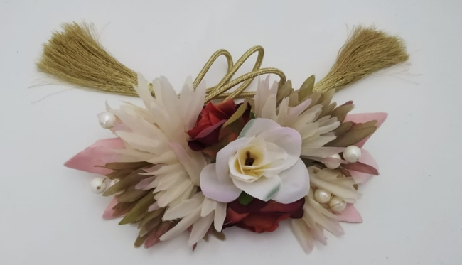 Cinturón de fiesta y flores Ref. 047