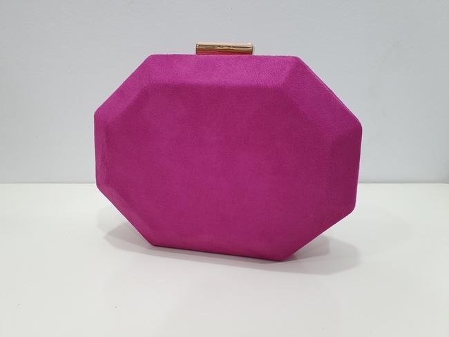 Bolso de fiesta hexagonal buganvilla