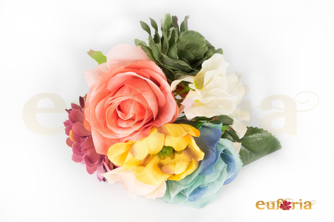 Ramillete multicolor