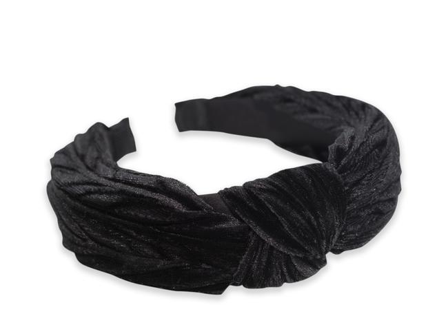 Diadema terciopelo negro