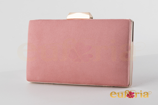 Bolso de fiesta rosa palo