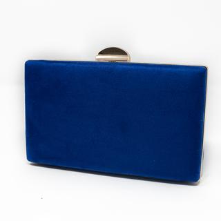 Bolso de fiesta azul añil